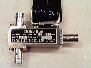Tohtsu Coaxial Relays From Radiodan W7rf Rf Transfer Switches